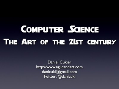 Computer Science – The Art of the 21st century
