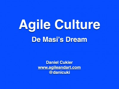 Agile Culture – De Masi's Dream